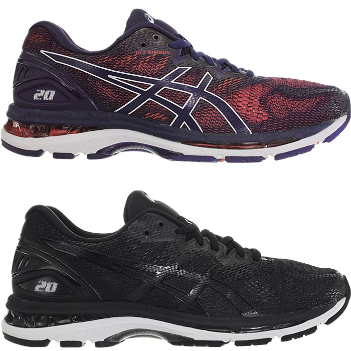 Details about Asics Gel Nimbus men's running shoes red black trainers jogging fitness NEW