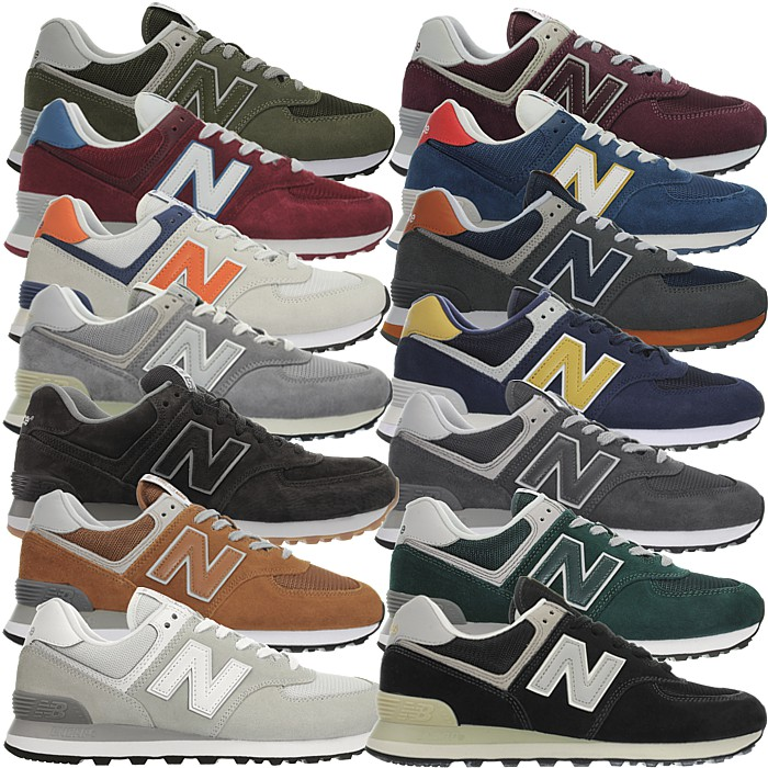 pretty nice 5fe5e d622d Details about New Balance 574 Classic many colors Men's suede Low-Top  Sneakers Shoes rare NEW
