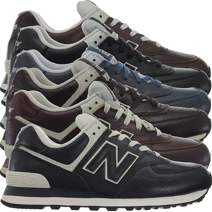Details about New Balance ML574 Leather Men's Fashion Sneakers Shoes in 3  colors rare!