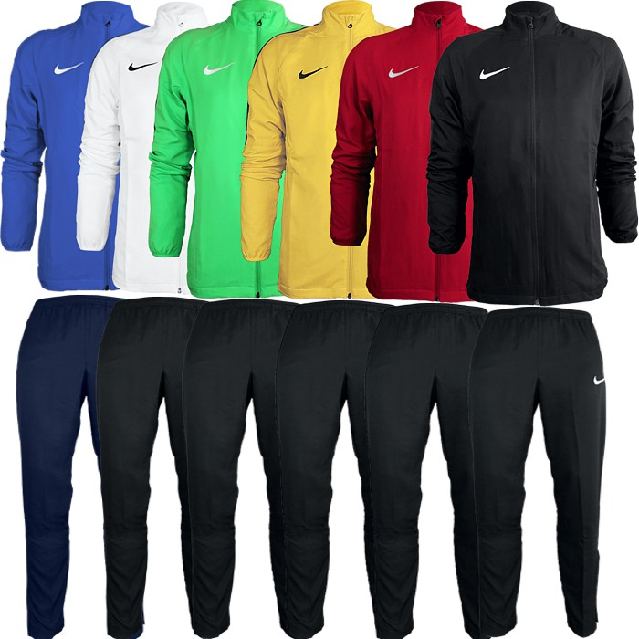 Details about Nike Academy 18 Tracksuit Mens Polyester Suit Sports Fitness Football show original title