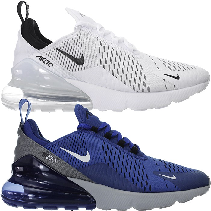 Details about Nike Air Max 270 White OD Blue Mens Low Top Running Sneakers Casual Shoes New show original title