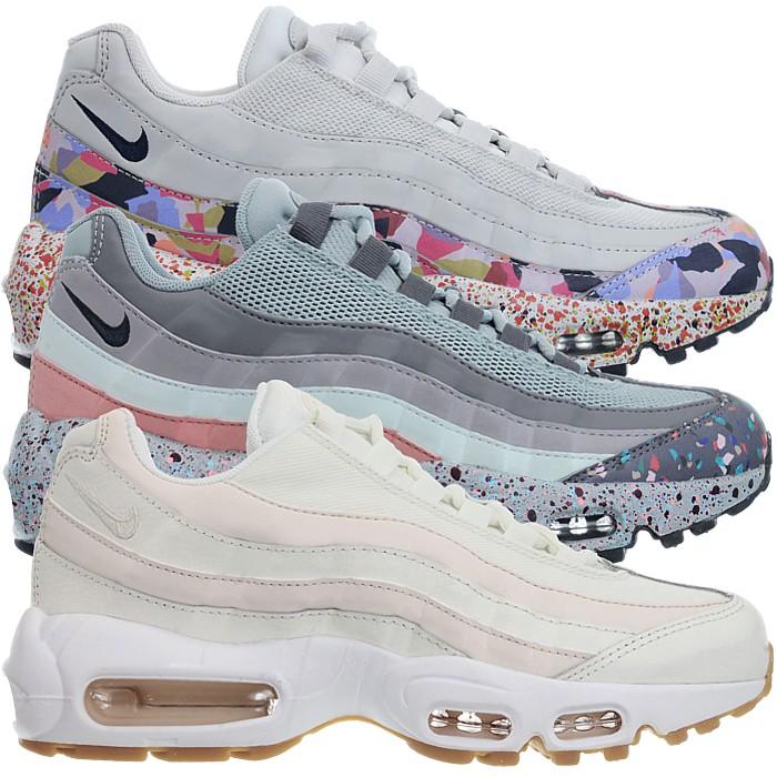 Details zu Nike Air Max 95 SE Damen Fashion Sneaker Multicolor Schuhe selten! Klassiker