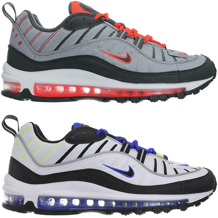 differently f6078 f652f Details about Nike Air Max 98 Men's Fashion Sneaker LifeStyle Sport Shoes  NEW