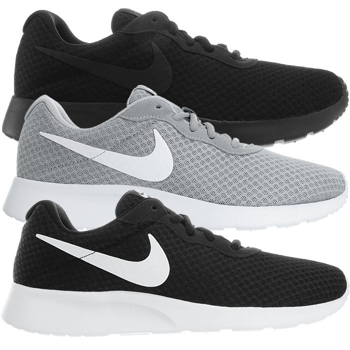 brand new bec7e 13f95 Details about Nike Tanjun Men s black gray white Sports Fashion Athletic Sneakers  Shoes NEW