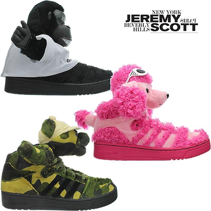 Details zu Adidas JEREMY SCOTT JS Teddy Designer Schuhe Sneaker Damen Herren NEU OVP